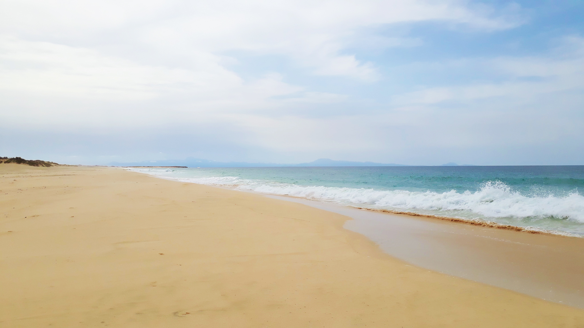 Sandstrand Insel Maio